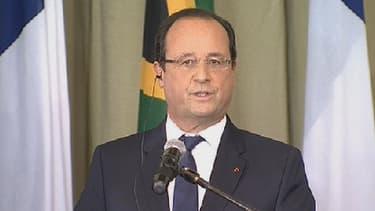 François Hollande est en Afrique du Sud ce lundi 14 octobre.