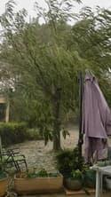 Vent, pluie et grêle à Aschères-le-Marché (Loiret) - Témoins BFMTV