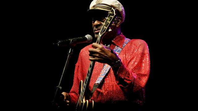 Chuck Berry, le 28 mars 2008