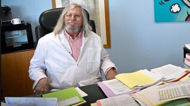 Le professeur Didier Raoult. - AFP