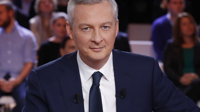 Bruno Le Maire a détaillé son programme économique  pour bfmbusiness.com.