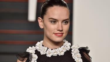L'actrice britannique Daisy Ridley, le 28 février 2016 aux Oscars.