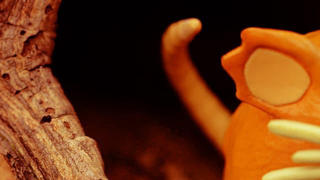 Une figurine de Rattatac
