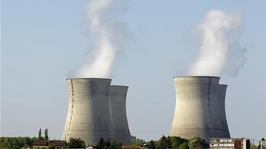 La centrale EDF de Bugey, près de Lyon. La décision de l'Allemagne de cesser toute production d'électricité nucléaire à partir de 2022, prise à la lumière de la catastrophe de Fukushima, au Japon, relance une nouvelle fois le débat en France sur les risqu