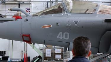 La nature des armes qui vont être fournies au Liban n'a pas été précisée. Ici un Rafale, l'avion de combat de Dassault.