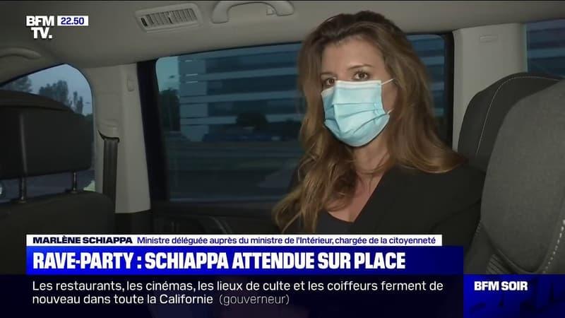 """Rave-Party dans la Nièvre: Marlène Schiappa se rend sur place """"pour saluer le travail"""" des forces de l'ordre"""