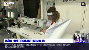 Coronavirus: un tissu anti-coronavirus mis au point près de Lyon