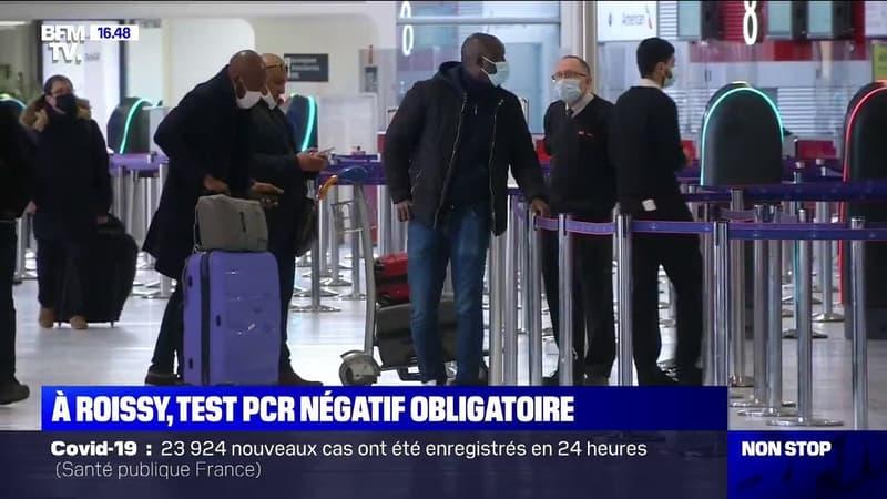 Les voyageurs de l'Union européenne doivent désormais avoir un test PCR négatif pour entrer sur le territoire français