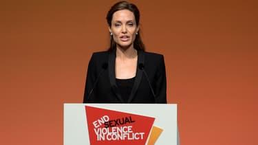 L'actrice américaine Angelina Jolie est déjà engagée dans plusieurs combats humanitaires.