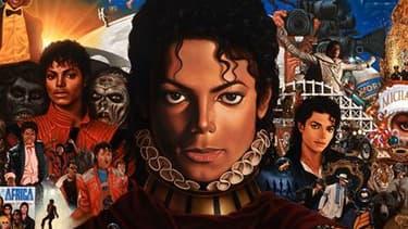 """Pochette de l'album """"Michael"""", un disque de morceaux inédits de Michael Jackson que Sony Music lancera le 14 décembre prochain. Cet album sera le premier depuis la mort du chanteur en juin 2009 à l'âge de 50 ans. /Image publiée le 4 novembre 2010/REUTERS/"""