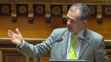 """""""L'immigration d'aujourd'hui, ce sont les terroristes de demain"""", a lancé mardi dans l'hémicycle le sénateur non-incscrit Jean-Louis Masson."""