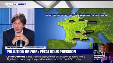 Ces agglomérations où l'air est jugé trop pollué en France