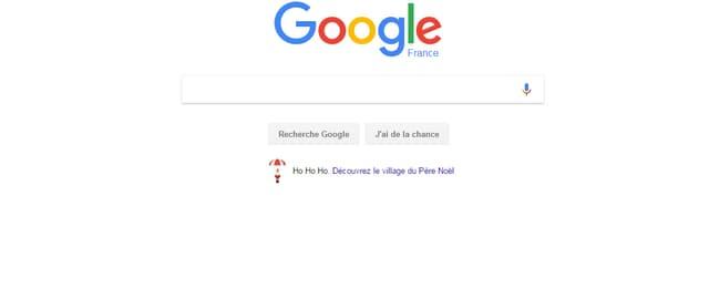 Le logo page d'accueil de Google France.