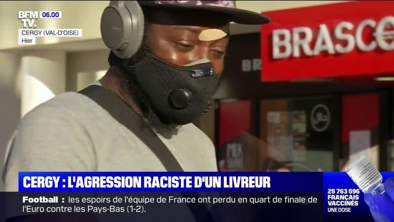 Cergy: le livreur agressé témoigne sur BFMTV