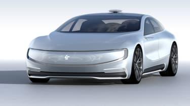 LeEco a présenté son concept LeSee, une voiture totalement électrique et autonome. Un concurrent de poids, peut-être, pour Tesla...