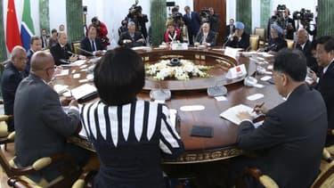 Les pays émergents, ici lors d'une réunion en marge du G20, ont obtenu des gages.