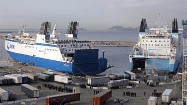 Ferries de la SNCM.