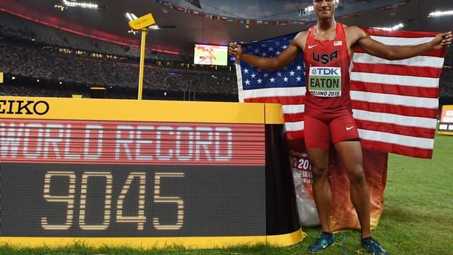 Ashton Eaton a battu son record du monde du décathlon à Pékin