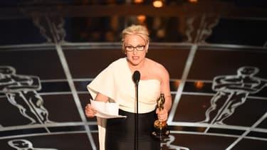 L'actrice américaine Patricia Arquette a livré un discours engagé lors de la dernière cérémonie des Oscars