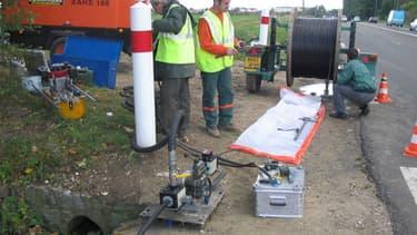 C'est surtout la fibre optique qui est mise en avant dans le plan France Très haut débit