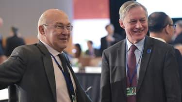 Michel Sapin et Christian Noyer, présents au G20 des ministres des Finances, ont participé aux discussions sur l'Ukraine.