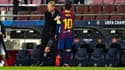 Ronald Koeman et Lionel Messi