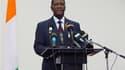 Alassane Ouattara, reconnu par l'Onu président élu de Côte d'Ivoire, accuse son rival Laurent Gbagbo d'être à l'origine des meurtres de centaines d'Ivoiriens depuis la proclamation des résultats contestés de la présidentielle. /Photo d'archives/REUTERS