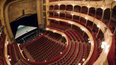 Le Théâtre du Châtelet est fermé jusqu'en 2019 pour des travaux de rénovation.