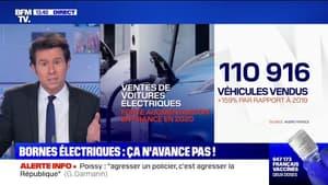 Véhicules électriques: le gouvernement consacre 100 millions d'euros à l'installation de bornes de rechargement