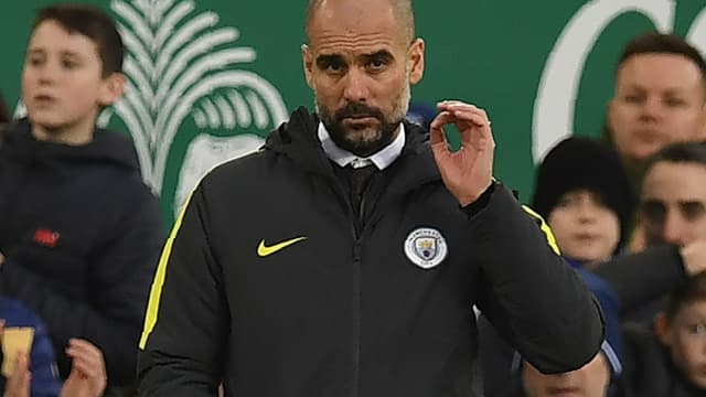 Pep Guardiola a concédé sa cinquième défaite de la saison en Premier League