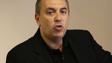 L'animateur Jean-Marc Morandini lors de la conférence de presse qu'il a donnée à Paris le 19 juillet 2016.