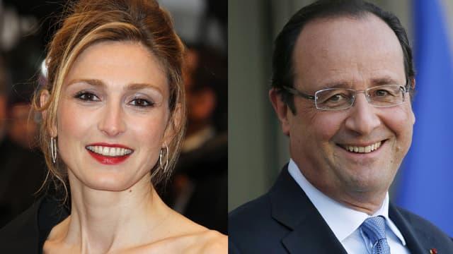Julie Gayet et François Hollande auraient entretenu une liaison, jamais confirmée officiellement.