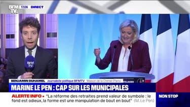 Que faut-il retenir du discours de Marine Le Pen ?