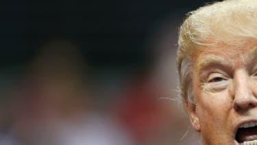 Donald Trump lors de son meeting à Dallas, le 14 septembre 2015