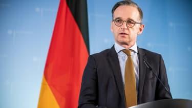 Le ministre allemand des Affaires étrangères Heiko Maas lors d'une conférence de presse le 5 juin 2020 à Berlin