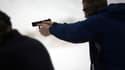 Des étudiants américains s'entraînent au stand de tir, à Wallingford, le 24 février 2013. (Illustration)