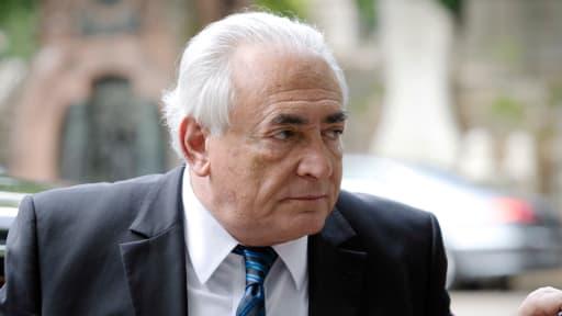 Dominique Strauss-Kahn, le 3 juin dernier, à Paris.