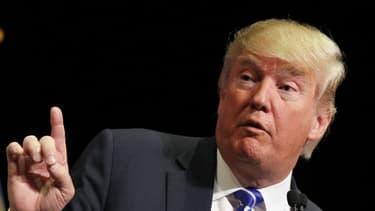 Donald Trump, le candidat aux primaires républicaines aux Etats-Unis