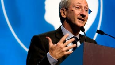 Franck Riboud, PDG du Groupe Danone