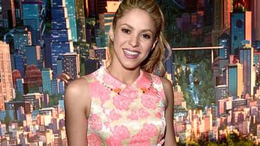 Shakira le 2 février 2016 à Los Angeles