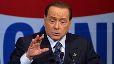 L'ancien chef du gouvernement italien, Silvio Berlusconi, subit actuellement une opération à coeur ouvert. (Photo d'illustration)