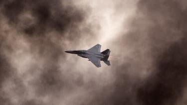 Un avion de l'armée israélienne.