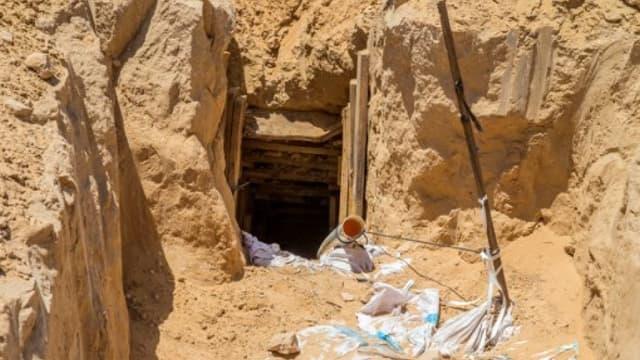 Image d'illustration d'un tunnel à la frontière entre Israël et Gaza