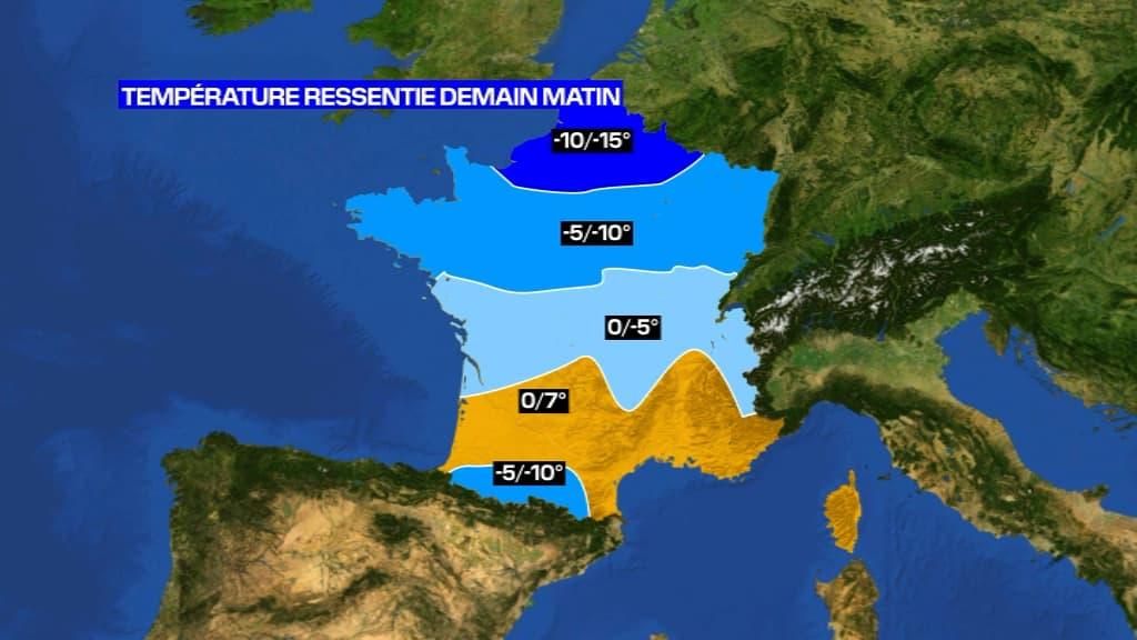 Vague de froid: jusqu'à quand ces températures glaciales vont-elles durer? - BFMTV