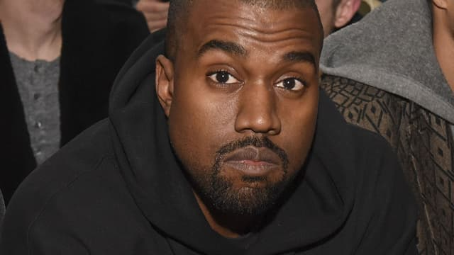 Kanye West à la Fashion Week de New York en février 2015.