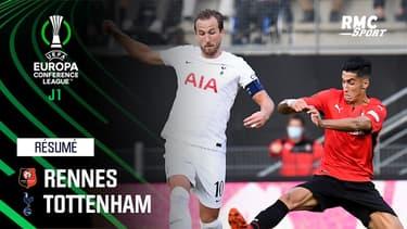 Résumé : Stade Rennais 2-2 Tottenham - Conference League J1
