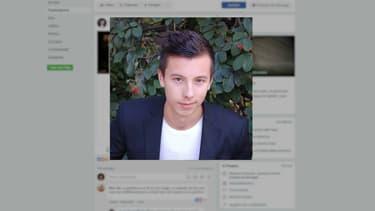 """Sur la page """"Je soutiens Marin"""", le jeune homme ou sa famille racontent son combat pour recouvrir la santé. - Capture BFMTV - Page Facebook Je soutiens Marin."""