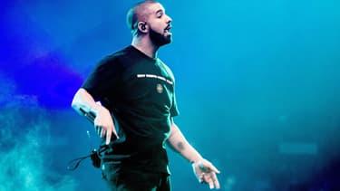Drake lors d'un concert à Amsterdam en 2017