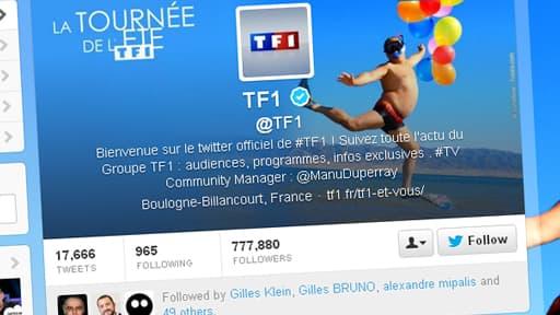 Ces extraits vidéos seront publiés sur le compte twitter de TF1.