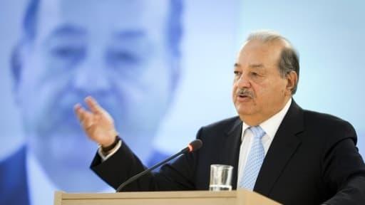 """Le Mexicain Carlos Slim, l""""homme le plus riche du monde, veut s'implanter massivement en Europe"""